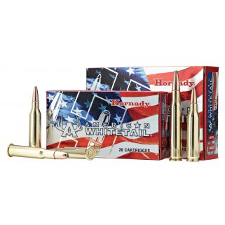 Hornady American Whitetail 7mm-08 Remington 139 Grain SP 20 Round Box 8057