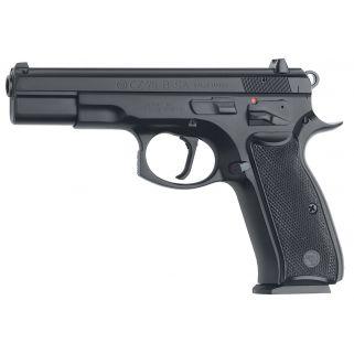 "CZ 75 B 9mm Luger 4.6"" Barrel W/ Fixed 3 Dot Sights 10+1 Black 01150"