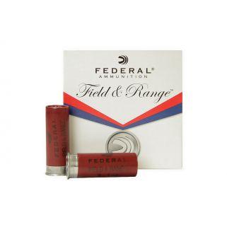 """Federal Field & Range 12 Gauge 2 3/4"""" 1oz 7.5 Shot FR12NBS75 250 Round Case"""