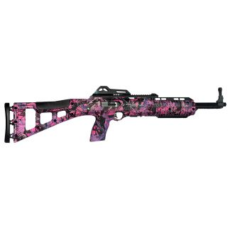 "Hi-Point 995TS Carbine 9mm Luger 16.5"" Barrel W/ Adjustable Sights 10+1 Pink Camo 995TSPI"