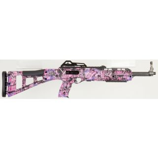 "Hi-Point 40TS Carbine 40S&W 16.5"" Barrel W/ Adjustable Sights 10+1 Pink Camo 995TSPI"