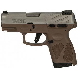 "Taurus G2s SS/BRN 9mm 3.25"" Barrel 7+1 1G2S939B"