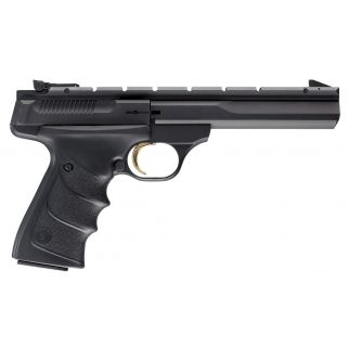 "Browning Buck Mark 22LR 5.5"" Barrel W/ Pro-Target Sights 10+1 *CA Compliant* Textured Grips/Black 051421490"
