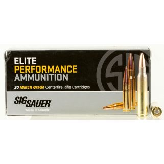 Sig Sauer Match Grade OTM 223 Remington/5.56NATO 77 Grain 20 Box/25 Case E223M120
