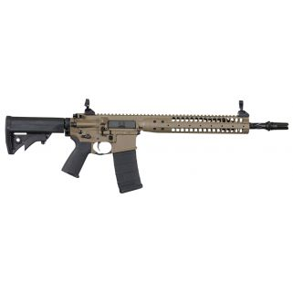 "LWRC IC SPR 223 Remington/5.56NATO 14.7"" Spiral Fluted Barrel 30+1 Patriot Brown ICR5PBC14PSP"