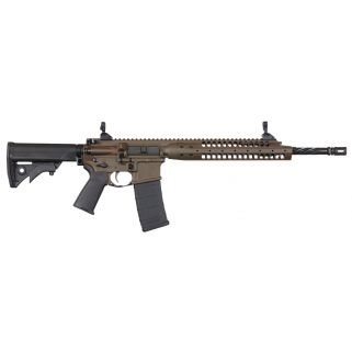 "LWRC IC A5 223 Remington/5.56NATO 14.7"" Spiral Fluted Barrel 30+1 Patriot Brown ICA5RPBC14P"
