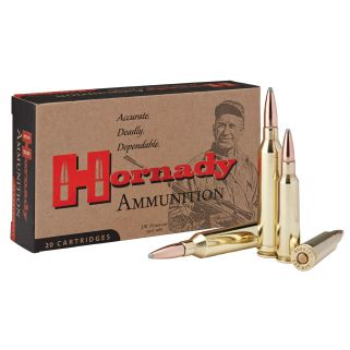 Hornady Custom 250 Savage 100 Grain SP 20 Round Box 8132