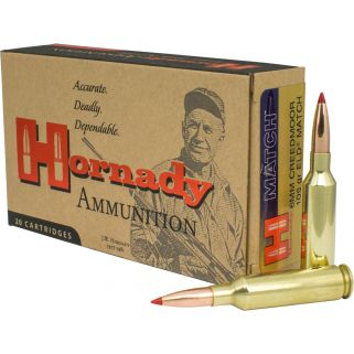 Hornady Match 6mm Creedmoor 108 Grain ELD Match 20 Round Box 81391