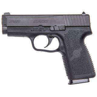 "Kahr KP40 40S&W 3.5"" Barrel W/Adjustable Sights 6+1 Black KP4044"