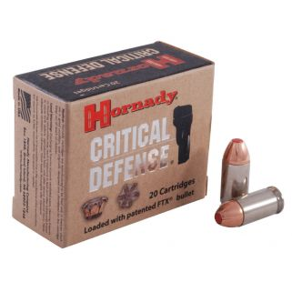 Hornady Critical Defense 45ACP 185 Gr FTX 20 Rd Box 90900