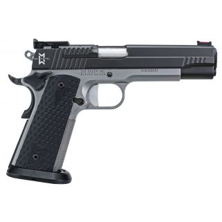 "Sig Sauer 1911 Full Size MAX 9mm Luger 5"" Barrel W/ Fiber Optic Front Sight 8+1 Black/Stainless 19119MAXM"