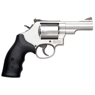 """Smith & Wesson 69 Combat 44 Remington Magnum 2.75"""" Barrel 5Rd Black Synthetic Grip/Stainless 10064"""