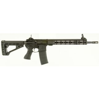 "Savage MSR 15 Recon 223 Remington/5.56NATO 16.125"" Barrel W/ Flip Up Sights 30+1 Black 22901"