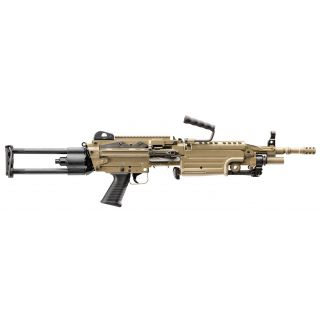 "FN M249S Para 223 Remington/5.56NATO 18.5"" Barrel 30+1/200+1 Flat Dark Earth 56502"