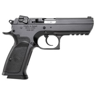 "Magnum Research Baby Desert Eagle III 9mm 4.43"" Barrel W/ Fixed 3 White Dot Sights 16+1 Black BE99153R"