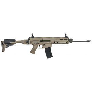 "CZ 805 Bren S1 223 Remington/5.56NATO 16.2"" Threaded Barrel W/ Flip Up-Rear Aperture Sights 30+1 Flat Dark Earth 08522"