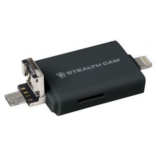 STEAL STC-DDMCR TRI SD READR IOS/AND