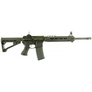 "Savage MSR 15 Patrol 223 Remington/5.56NATO 16.125"" Barrel W/ Flip Up Sights 30+1 Black 22899"