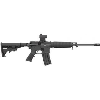 "Bushmaster QRC Carbine 223 Remington/5.56NATO 16"" Barrel W/ Mini Red Dot Optic 10+1 Black 91047"