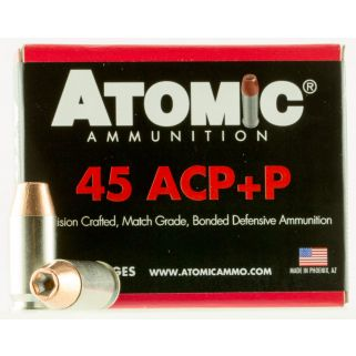 ATOMIC 00458 45ACP+P185 MATCH HP 20/10