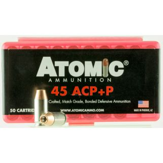 ATOMIC 00412 45ACP+P185 MATCH HP 50/10