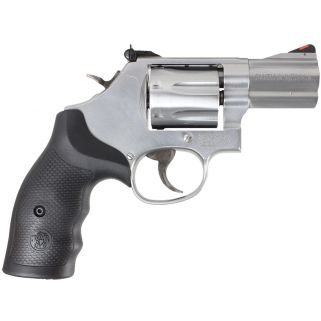 "Smith & Wesson 686 Plus 357 Magnum 2.5"" Barrel 7Rd Black Synthetic Grip/Stainless 164192"