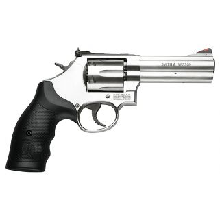 "Smith & Wesson 686 Distinguished Combat 357 Magnum 4.125"" Barrel 6Rd Black Synthetic Grip/Stainless 164222"