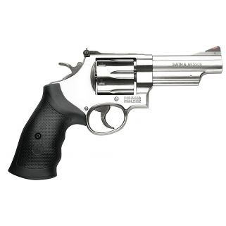 "Smith & Wesson 629 44 Remington Magnum 4.125"" Magnum 6Rd Black Synthetic Grip/Stainless 163603"