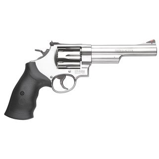"Smith & Wesson 629 44 Remington Magnum 6"" Barrel 6Rd Black Synthetic Grip/Stainless 163606"