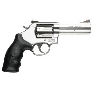 "Smith & Wesson 686 Plus 357 Magnum 4"" Magnum 7Rd Black Synthetic Grip/Stainless 164194"
