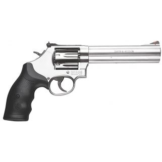 "Smith & Wesson 686 Plus 357 Magnum 6"" Barrel 7Rd Black Synthetic Grip/Stainless 164198"