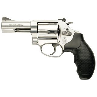 "Smith & Wesson 60 357 Magnum 3"" Barrel 5Rd Black Synthetic Grip/Stainless 162430"