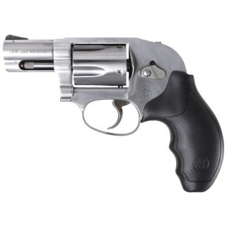 "Smith & Wesson 649 Shrouded Hammer 357 Magnum 2.125"" Barrel 5Rd Black Synthetic Grip/Stainless 163210"