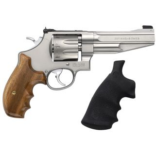 "Smith & Wesson 627 Performance Center 357 Magnum 5"" Barrel 8Rd Wood Grip/Stainless 170210"