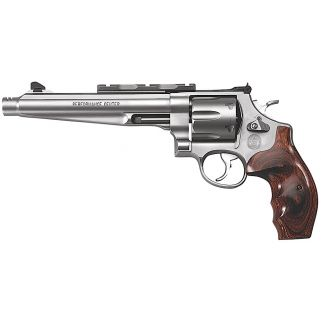 "Smith & Wesson 629 Performance Center 44 Remington Magnum 7.5"" Barrel 6Rd Wood Grip/Stainless 170181"