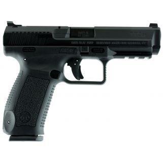 "Century Canik TP9SF 9mm Luger 4.46"" Barrel W/ Warren Tactical Sights 18+1 Black HG4070N"