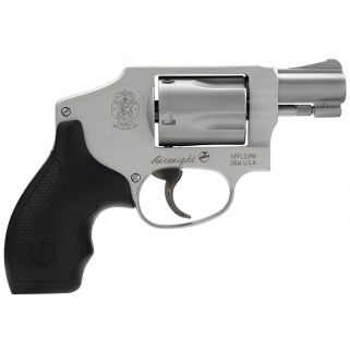 """Smith and Wesson 642 Airweight 38 Special 1.87"""" Barrel 5rd Hammerless Silver Finish 163810"""