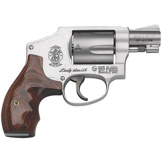"Smith & Wesson 642 Ladysmith 38 Special  1.875"" Barrel 5Rd Wood Grip/Stainless 163808"
