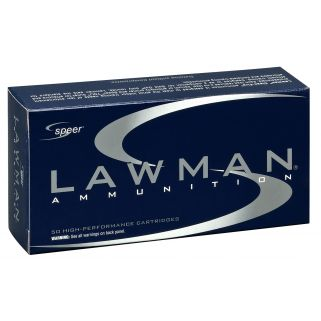 SPEER 54232 LAWMAN CF 357SIG 125 50/20