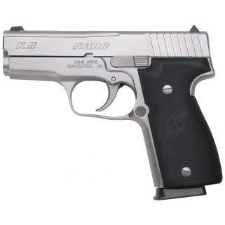 """Kahr K9 9mm 3.5"""" Barrel W/Adjustable Sights 7+1 Black/Stainless K9093"""