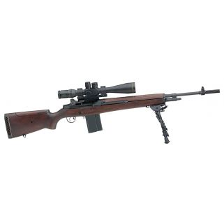 "Springfield Armory M1A M21 Tactical 308WIN/7.62NATO 22"" Barrel 10+1 Walnut Stock Blued SA9121"