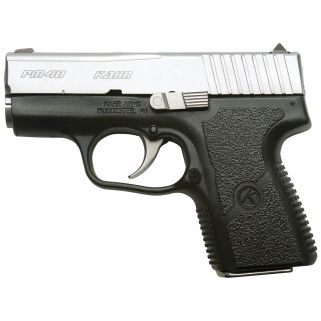 "Kahr PM40 40S&W 3"" Barrel 5+1/6+1 Black/Matte Stainless PM4043"