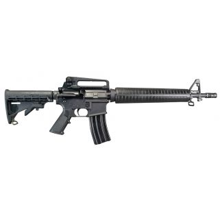 "Windham Weaponry M4 Dissipator 223 Remington/5.56NATO 16"" Barrel W/ A2 Sights 30+1 Black R16M4DA4T"