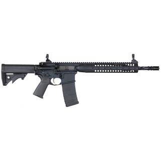 "LWRC IC SPR 223 Remington/5.56NATO 16.1"" Spiral Fluted Barrel 10+1 *CA Compliant* Black ICR5B16SPRCA"