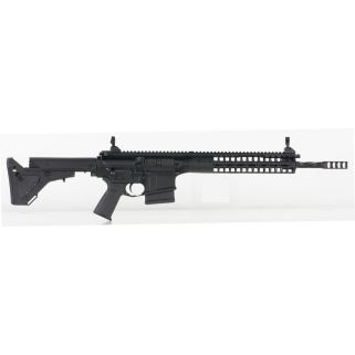 "LWRC R.E.P.R. 308WIN/7.62NATO 16.1"" Spiral Fluted Barrel 10+1 *CA Compliant* Black REPRMKIIR7BF"