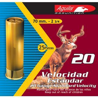 AGUILA 1C2014FA 20GA STD #3 BUCK 25/10