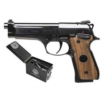 """Beretta 92 Centennial Limited Edition 9mm 4.9"""" Barrel 15+1 Wood Grip/Blued A5BJ2221132000"""