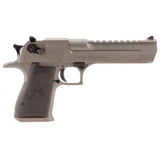 "Magnum Research Desert Eagle 44 Magnum 6"" Barrel W/ Combat-Fixed Sights 8+1 Black/Tungsten DE44TU"