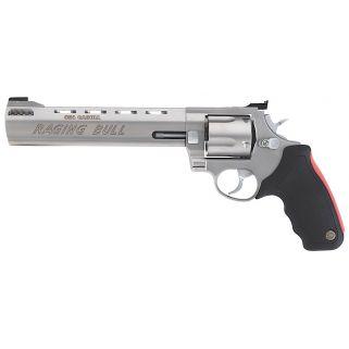 """Taurus 454 Raging Bull 454 Casull 8.375"""" Barrel 5Rd Black Rubber Grip/Stainless 2454089M"""