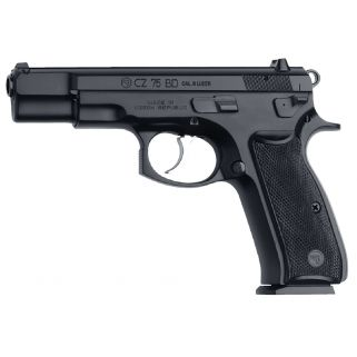 "CZ 75 BD 9mm Luger 4.6"" Barrel W/ 3 Dot Sights 10+1 Black 01130"